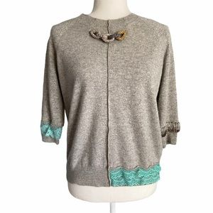 Runway Marc Jacobs Cashmere Chain Detail Sweater
